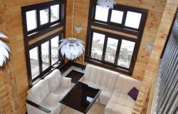 Дом из клееного бруса «Чубарово»