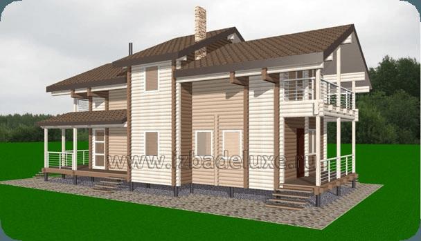 Проект дома «Залив 115»