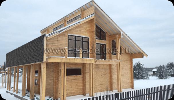Строительство загородного дома «Кисельные берега».