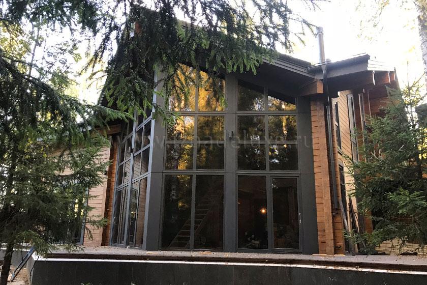Строительство дома по индивидуальному проекту «Лесной ручей».