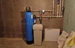 Система водоочистки смонтирована и пущена.