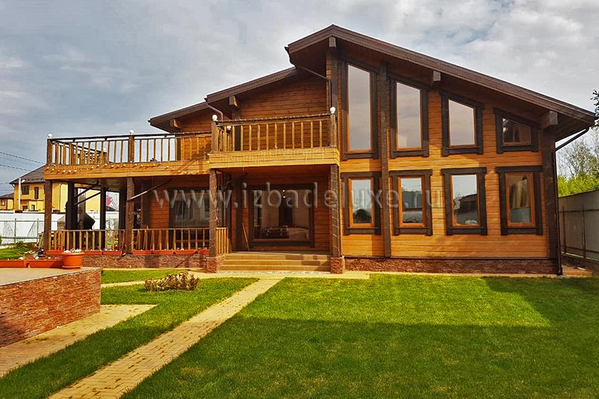Строительство по индивидуальному проекту гостевого дома-бани «Евгения»