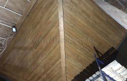 Лиственница - самая фактурная древесина.