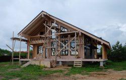 Дом очень интересный по архитектуре. Проект доработан.