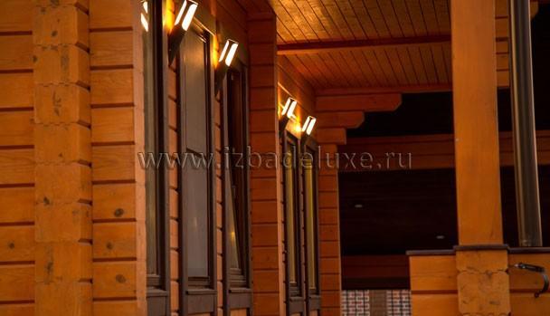 Еще один вариант светильников фасада :) Красиво!