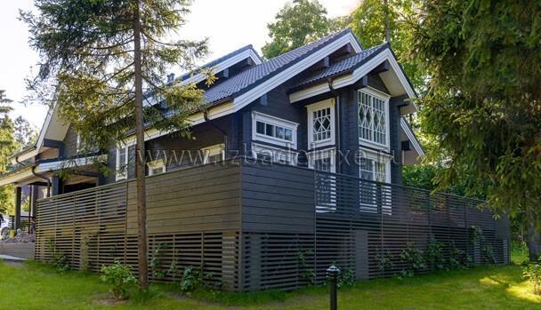 Строительство дома из клееного бруса по авторскому проекту – «Кино»
