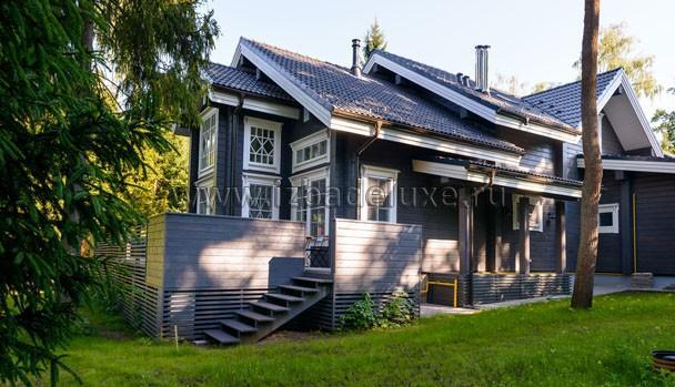 Дом в стиле дачи 50-60хх.