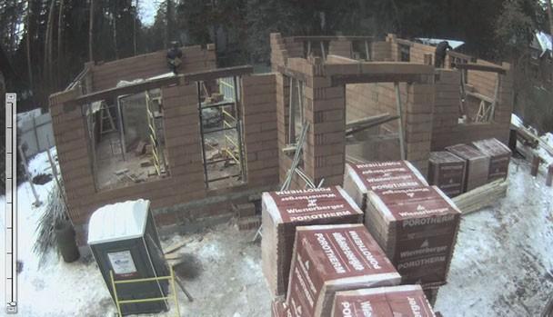Строительство дома по проекту «Николина гора»