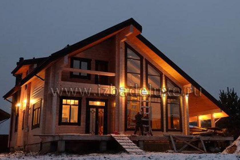Строительство дома «Лорелинка» (Зимняя сказка-14).