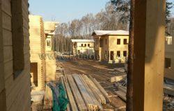 Вид с террасы первого дома.