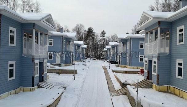 Строительство коттеджного поселка из клееного бруса в Мытищинском районе