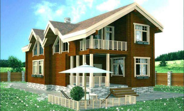 Проект дома «Благовещенка»