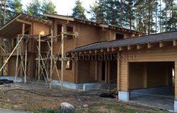 Окна - деревянные, срок изготовления 45 дней. Будут в конце ноября. Очередь...