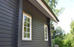 Раскладка - деревянный штапик сделана под дизайн дома.