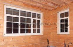 А вот и окна.