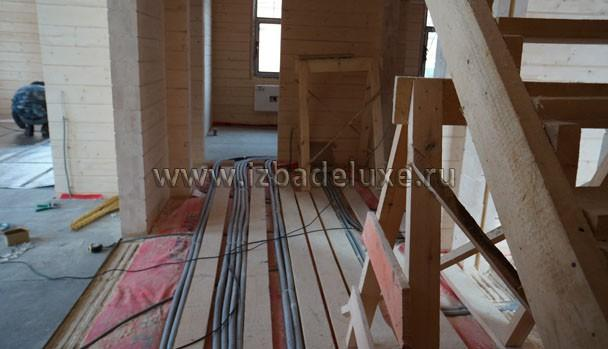 Общая длина электропроводов на один дом - почти 1 200 погонных метров.