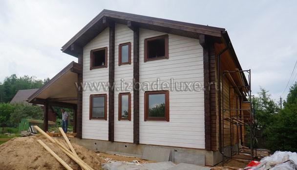 Строительство дома по индивидуальному проекту Витязь