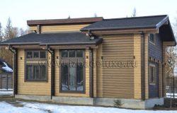 Проект загородного дома Чубарово.