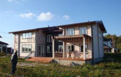 """Здесь точное соответствие с проектом, проект на сайте в разделе """"Дома больше 200 кв.м."""""""