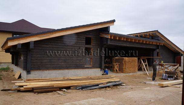Строительство дома персонала с закрытым паркингом в Наро-Фоминском районе.