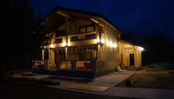 Ничто так не красит дом, как подсветка его... Волшебство сказочное.