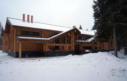 Снег, дерево и медь!