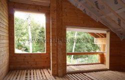 Окна уже заказаны. Деревянные, из лиственницы. Дорогое и эксклюзивное решение Заказчика. Но красивые...