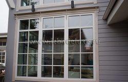 Красивые окна. Раскладка очень украшает! :)