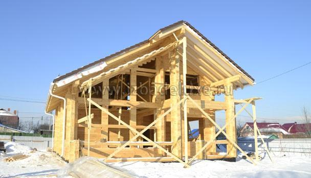 Строительство дома по типовому проекту Зимняя Сказка-7