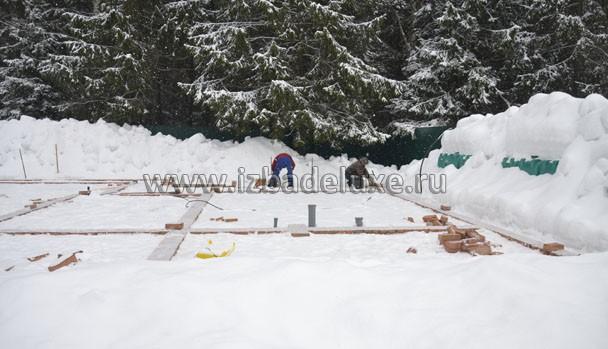 Строительство дома ведется по индивидуальному проекту.