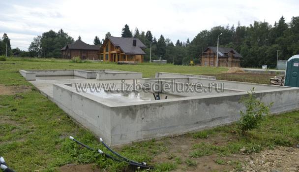 Фундамент был выполнен специалистами Заказчика.