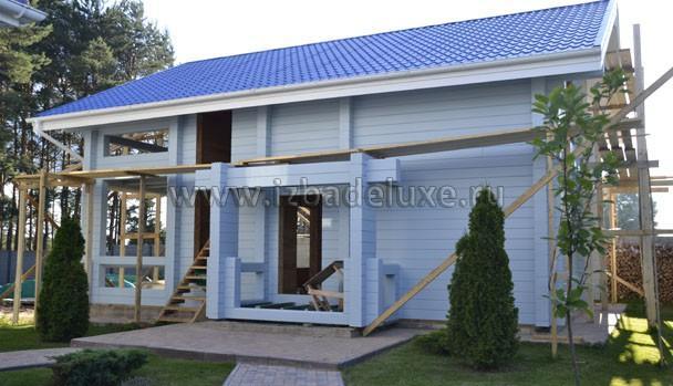 Строительство гостевого дома-бани «Можайский берег»