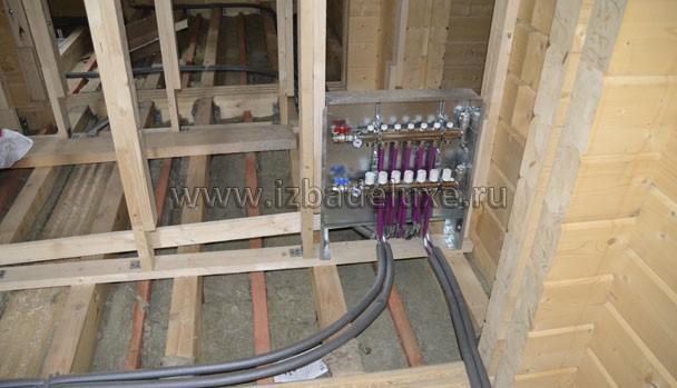 Инженерные сети в деревянном доме.