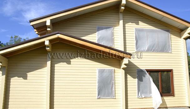 Закрыли окна, чтобы не испортить покраской.