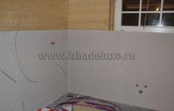 Подготовка стен под плитку.