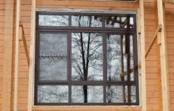 Вот такие импосты. Деревянное окно позволяет сделать очень интересный фасад.