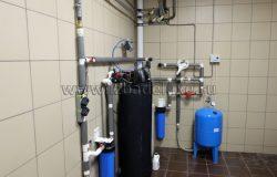 Котельная, система водоочистки.