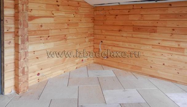 Стены красятся обычно перед чистовым полом, но после чистовых потолков.