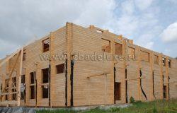 Над сборкой проекта работали 9 плотников-сборщиков.