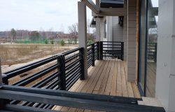 """Балкон """"в сборе"""", но без покраски напольного покрытия. Не выбран цвет."""