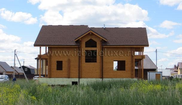 Тюмень! Мы выполняли проектирование - архитектура, конструкторская документация и поставка домокомплекта.