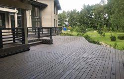 Большие террасы - украшение дома.