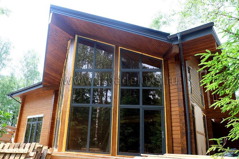 Строительство дома по индивидуальному проекту дома «Лесной ручей».