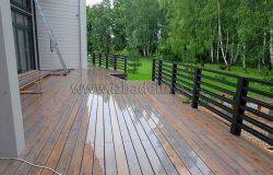 Непрекращающиеся дожди совершенно не дают работать... Чудовищное лето в плане стройки....