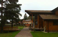 Поселок небольшой, уютный Чеховский район.