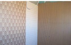 Очень красиво сочетаются дерево стен и с каркасными стенами, выполненными в других материалах.