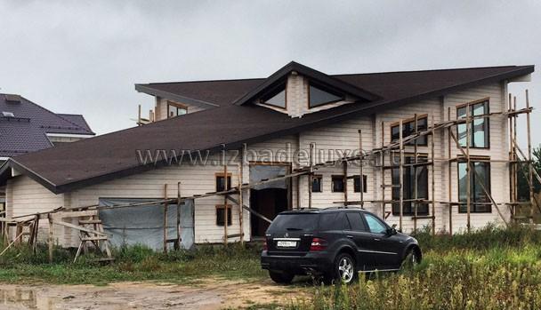 Строительство дома в Раменском районе по проекту «Сияние»