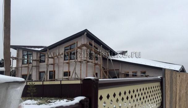 """Дом переделан из проекта """"Олисия""""."""