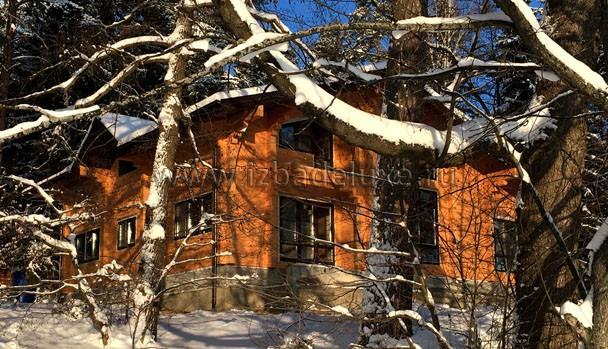 Все-таки как же красиво с деревьями в снегу.