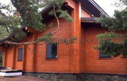 Идентичен проекту. Проект дома в разделе дома от 200 до 300 кв.м. Дом одноэтажный.